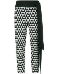 Chalayan - Pantaloni crop - Lyst