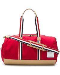 Thom Browne - Leather Base Gym Bag - Lyst