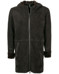 Giorgio Brato - Hooded Shearling Jacket - Lyst