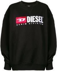 DIESEL - F-arap Logo Sweatshirt - Lyst