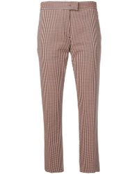 PS by Paul Smith - Check Pattern Trousers - Lyst