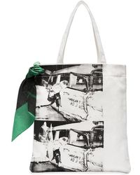 CALVIN KLEIN 205W39NYC - X Andy Warhol Foundation Ambulance Disaster Tote Bag - Lyst