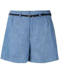 Guild Prime - Belted Tailored Shorts - Lyst