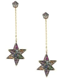 Noor Fares | Merkaba & Cone Dress Earrings | Lyst