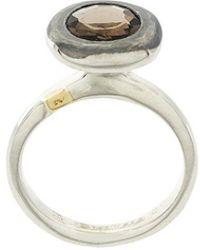 Rosa Maria - Embellished Pendant Ring - Lyst