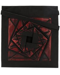 Issey Miyake - Geometric Patterned Tote Bag - Lyst