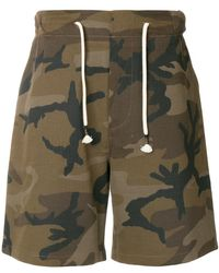 The Silted Company - Camo Shorts - Lyst