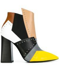 Pollini - Colour Block Boots - Lyst