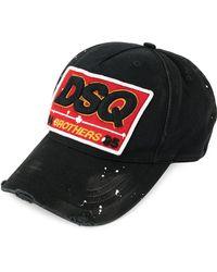 DSquared² - Baseballkappe mit Logo-Patch - Lyst