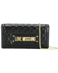 d4126c6afc10 Love Moschino - Quilted Shoulder Bag - Lyst