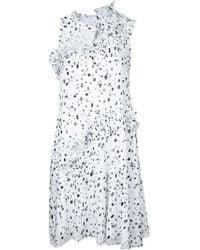 Carven - Dots Print Dress - Lyst