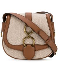 Ralph Lauren - Buckle Cross-body Bag - Lyst
