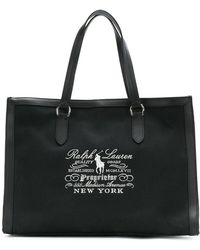 Ralph Lauren - Embroidered Tote Bag - Lyst
