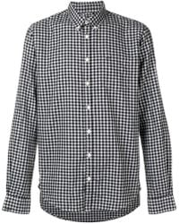 Sun 68 - Checked Button-down Shirt - Lyst
