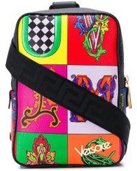 Versace - Rucksack mit Alphabet-Print - Lyst