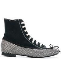 Marco De Vincenzo - Sneaker Ballerina Hybrid Boots - Lyst