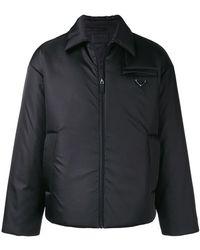 Prada - Classic Padded Jacket - Lyst