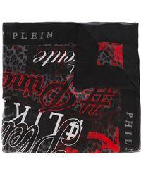 Philipp Plein - Printed Scarf - Lyst