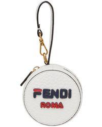 Fendi - Mania Logo Help Bag Charm - Lyst