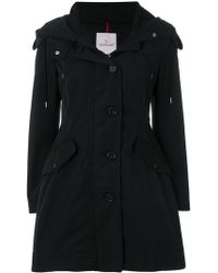 Moncler - Flared Hooded Coat - Lyst
