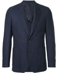 Gieves & Hawkes Notched Lapel Blazer Jacket