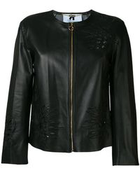 Blumarine - Floral Embroidered Jacket - Lyst
