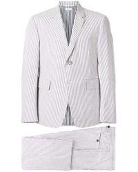Thom Browne - Seersucker Suit With Tie - Lyst