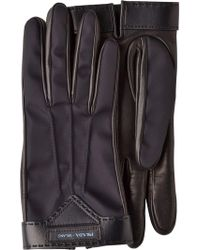 Prada - Handschuhe aus Lammleder - Lyst