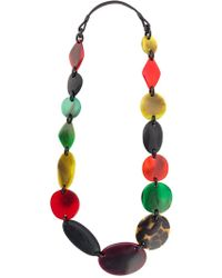 Monies - Beaded Necklace - Lyst