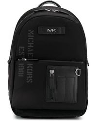 Michael Kors - Leather trim backpack - Lyst