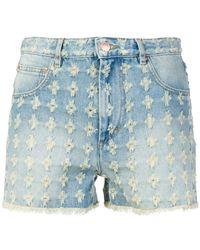 Étoile Isabel Marant - High-waisted Denim Shorts - Lyst