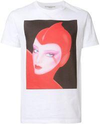 Stella McCartney - Front Printed T-shirt - Lyst