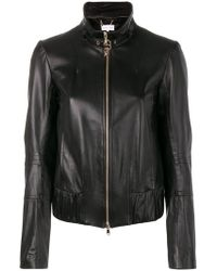 Patrizia Pepe - Buckle Collar Jacket - Lyst