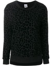 Twin Set | Leopard Print Sweatshirt | Lyst