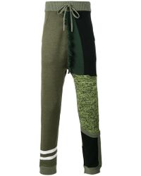 Liam Hodges - Structures Knitted Track Pants - Lyst