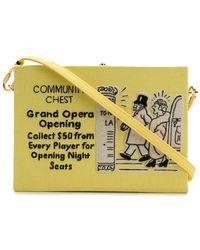 Olympia Le-Tan - Community Chest Crossbody Bag - Lyst