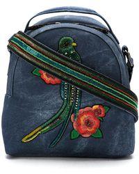 Isla - Embroidered Mini Bag - Lyst