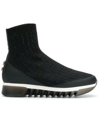 Alexander Smith - Sock High Ankle Sneakers - Lyst