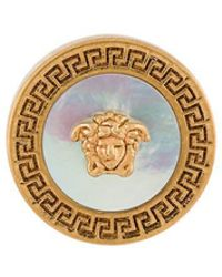Versace - Medusa Post Earrings - Lyst