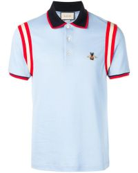 3c118646a226f Givenchy Star Appliqué Polo Shirt in Red for Men - Lyst