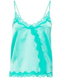 Max & Moi - Lace Trim Camisole - Lyst