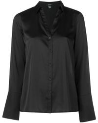 DKNY - Long-sleeve Fitted Shirt - Lyst