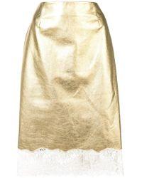 6f6cbe856e Women's CALVIN KLEIN 205W39NYC Mid-length skirts On Sale - Lyst