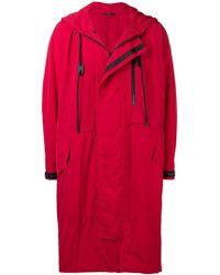 Issey Miyake - Hooded Raincoat - Lyst