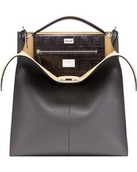 Fendi - Peekaboo X-lite Fit Bag - Lyst