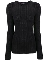Theory - Knitted Sweatshirt - Lyst