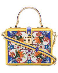 Dolce & Gabbana | Majolica Box Bag | Lyst