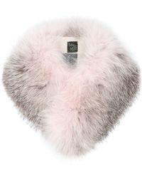 Mr & Mrs Italy - Two-tone Fur Collar - Lyst