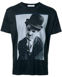 Education From Young Machines - Charles Chaplin T-shirt - Lyst
