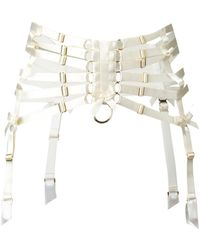 Bordelle | Webbed Suspender Belt | Lyst